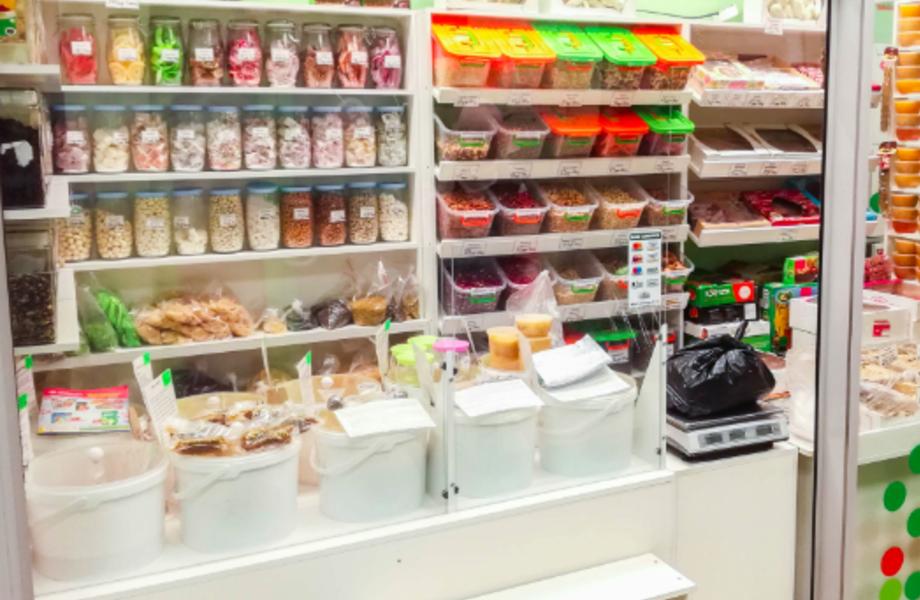 Сеть магазинов по продаже сухофруктов и орехов