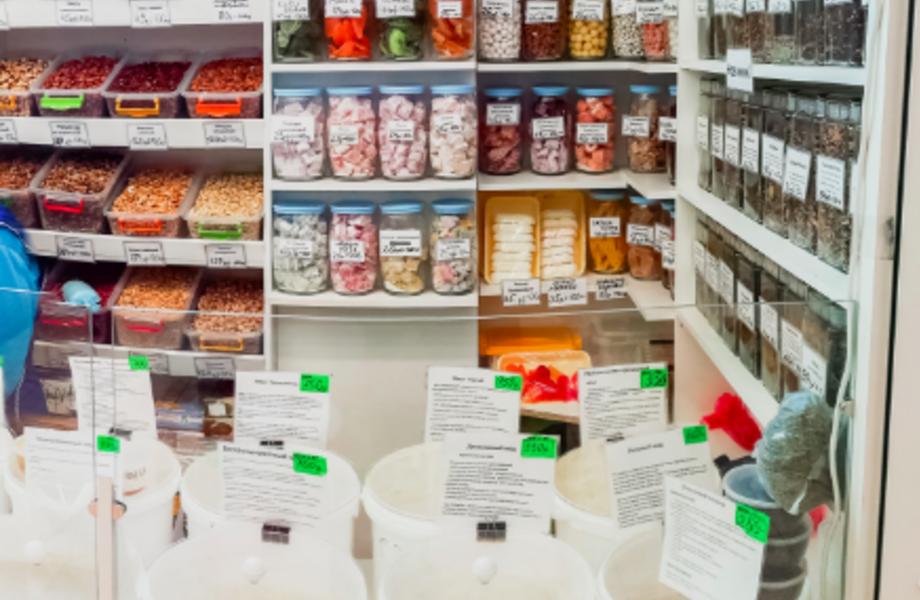 магазин по продаже сухофруктов и орехов