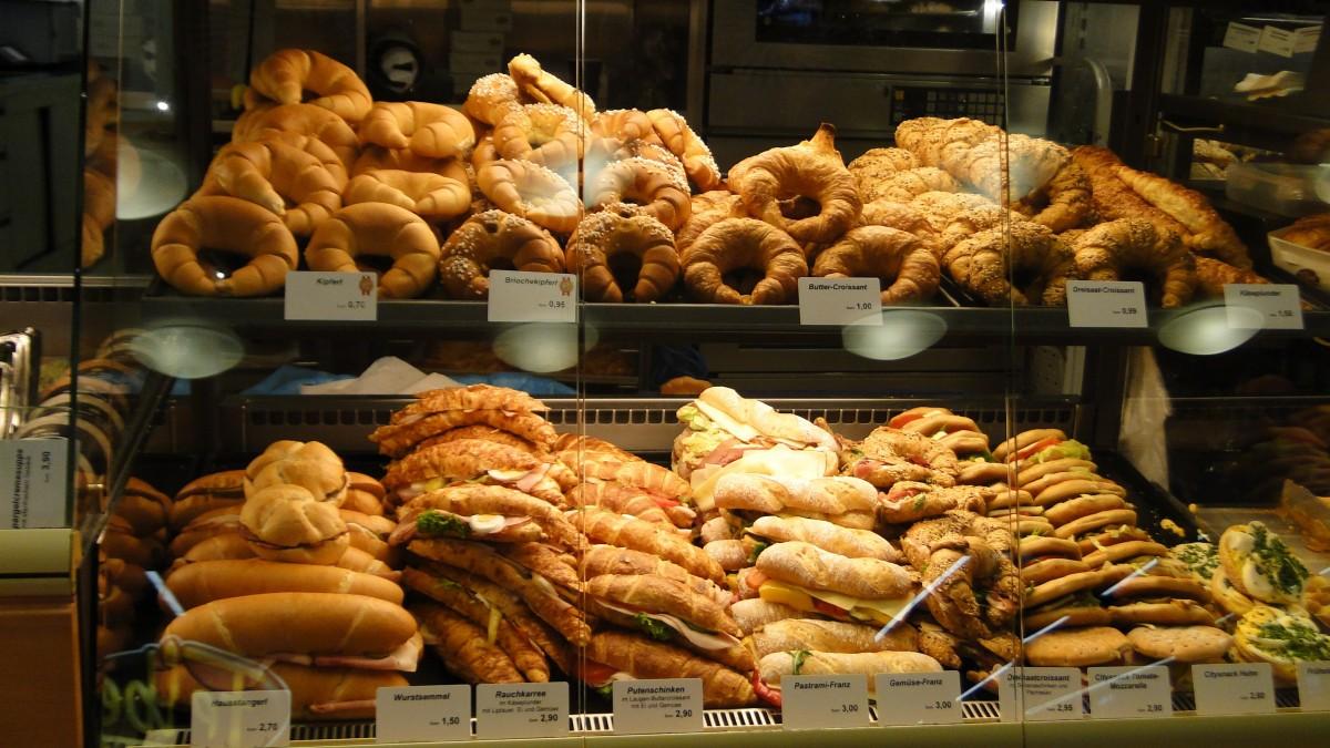 Пекарня в очень проходимом месте