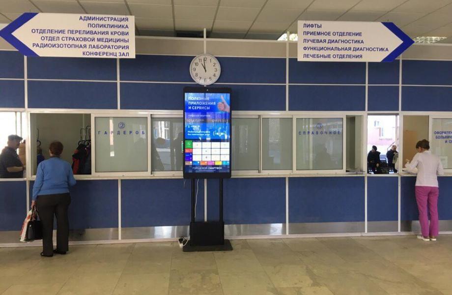 Сеть интерактивных терминалов