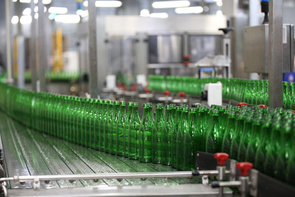 Действующее производство бутилированной воды