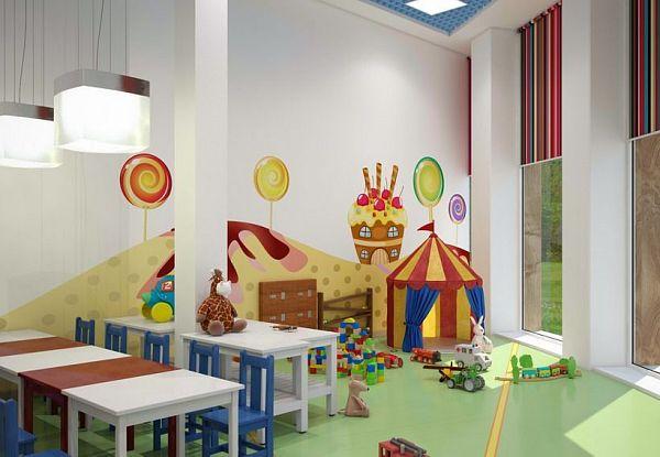 Детский сад в большом жилом массиве комфорт класс