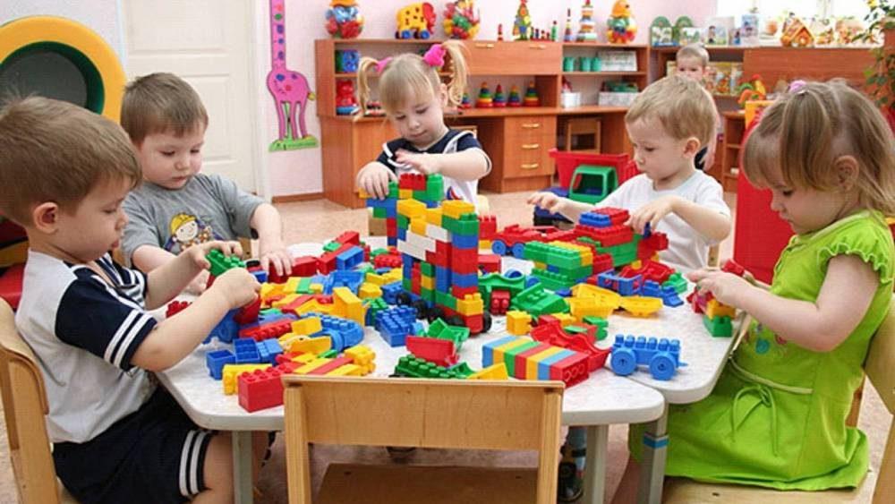 Детский сад в большом жилом массиве